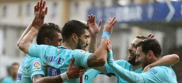 El Barça gana en Ipurúa sudando ante un buen Eibar que acabó con diez