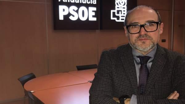 El secretario de Política Municipal del PSOE de Granada, José María Corpas