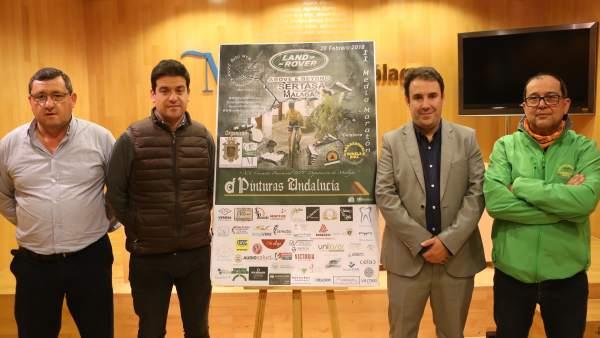 Cartel Circuito Provincial Media Maratón Casarabonela BTT