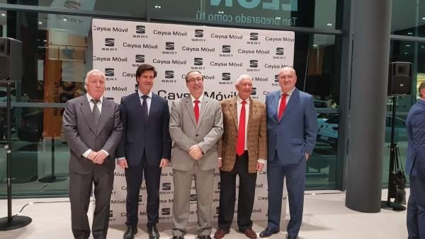 Inauguración de las nuevas instalaciones de Caysa Móvil en Camas