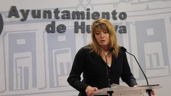 La portavoz del Grupo Municipal del PP en Huelva, Pilar Miranda