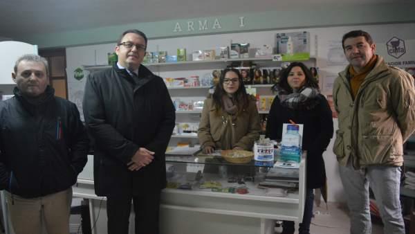 Visita a la farmacia en Torrelacárcel