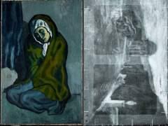 Descubren una posible pintura de Torres-García oculta en un Picasso