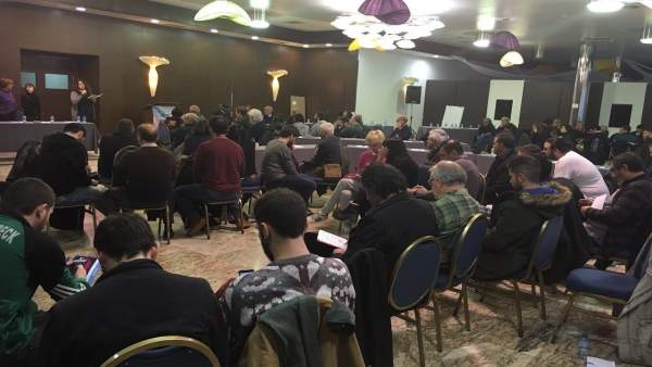 Conferencia Política de Anova en Teo (A Coruña)