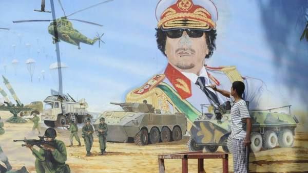 Muerte de Gadafi