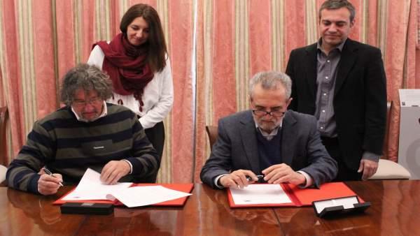 Convenio entre Ayuntamiento de Sevilla y asociación de Síndrome de Asperger