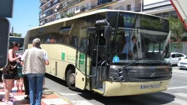 Autobús en Torremolinos