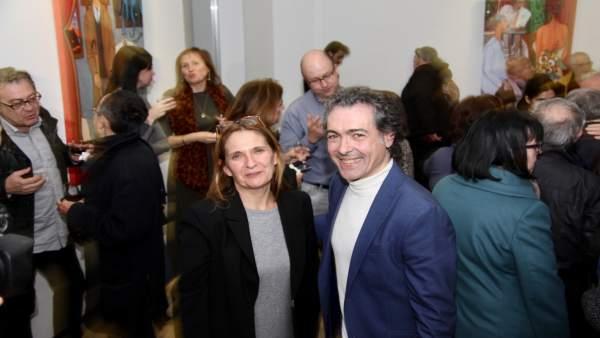 Marie-Cécile Le Luc y Antonio Camaró
