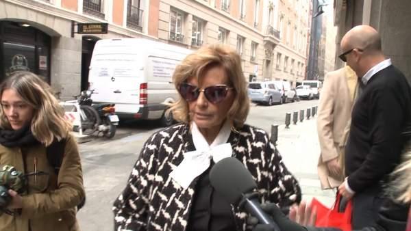 María Teresa Campos, ingresada en un hospital