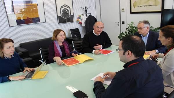 Primera reunión del programa estratégico 'Uneix'