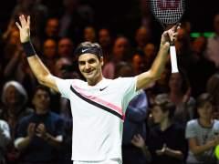 Federer celebra su número 1 mundial ganando en Rotterdam