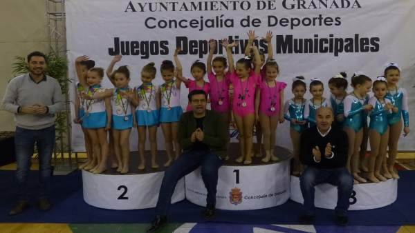 Juegos deportivos municipales en Granada