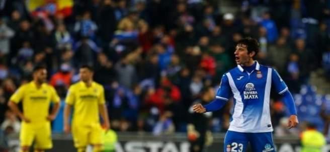 Granero celebra en el Espanyol - Villarreal