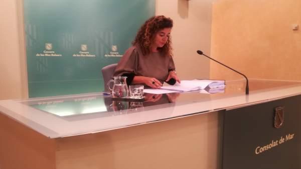 Pilar Costa Consell de Govern