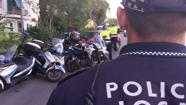 Recurso de la Policía Local de Elche