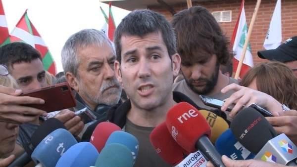 El portavoz de Sortu, Arkaitz Rodríguez