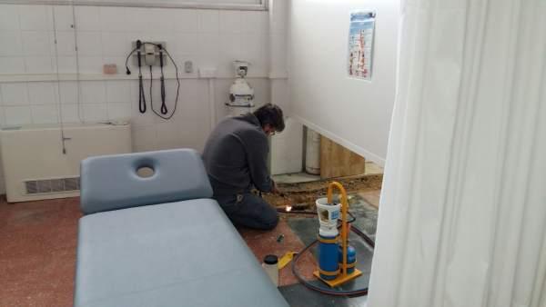 Maquinaria de climatización del Centro de Salud Muntanya de Marratxí