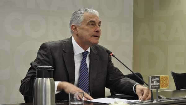 El portavoz de Hacienda del Grupo Parlamentario Popular, Antonio Suárez.