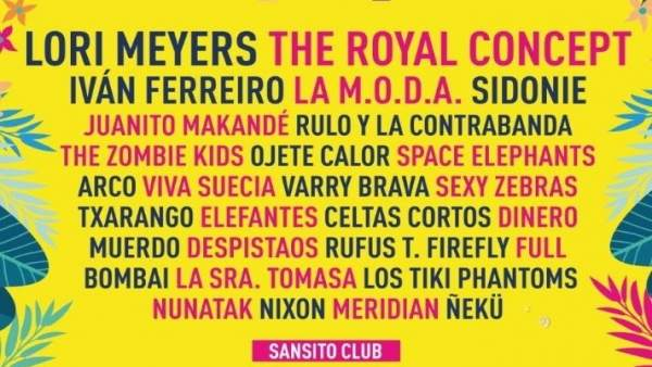 The Zombie Kids, Ojete Calor, Dj Plan B, Ángel Carmona dj i les Chillers Djs completen el cartell del Sansan