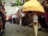 Danza de los zancos de Anguiano