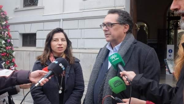 Vamos Granada atiende a los medios