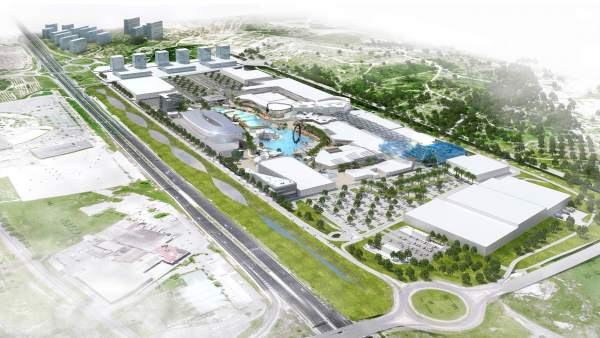 Imagen inicial del proyecto de centro Puerto Mediterráneo