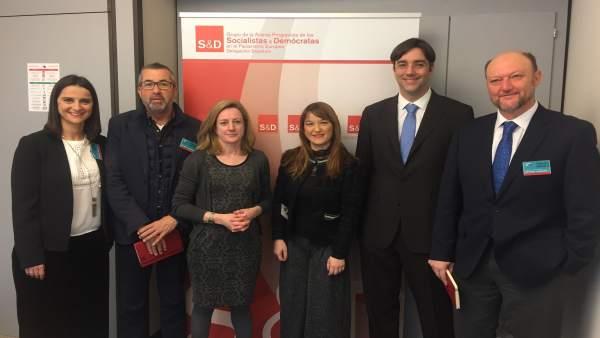 Delegación Psoe De Sevilla En Bruselas