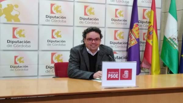 El viceportavoz del PSOE en la Diputación de Córdoba, Antonio Rojas