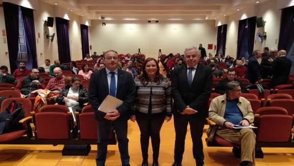 Martín y Carrillo inauguran el encuentro