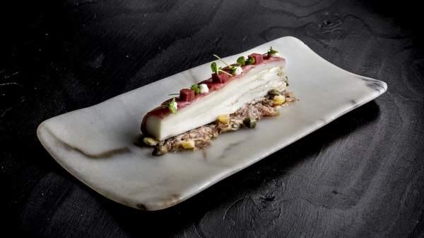 Uno de los platos de Valencia Culinary Meeting