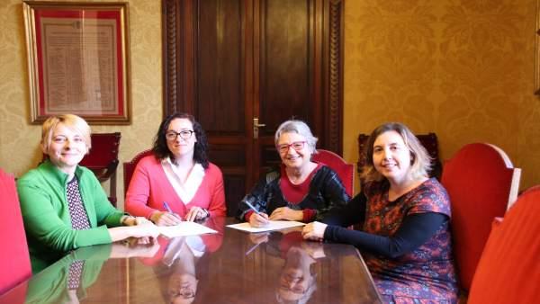 Firma entre Derechos Sociales y PalmaActiva