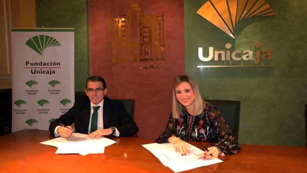 Convenio Fundación Unicaja y Delegación de Educación