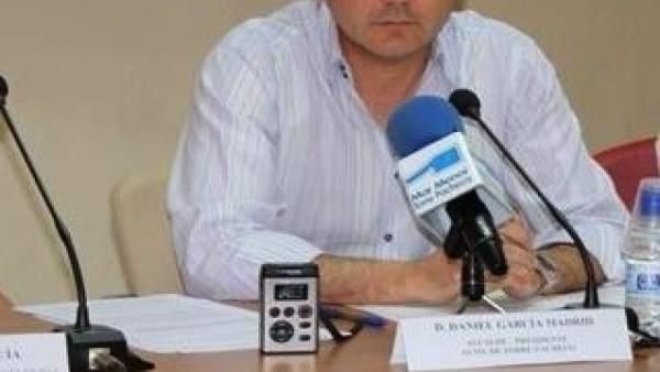 El alcalde de Torre Pacheco, Daniel García Madrid