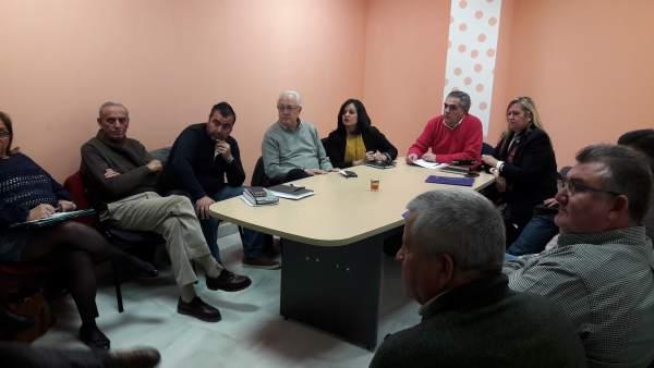 Reunión del PP con parcelistas del Sector F