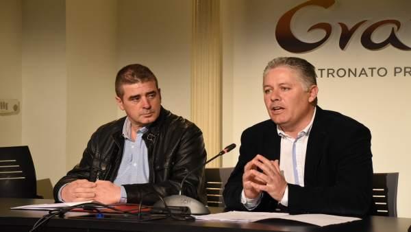 Rueda de prensa de la Diputación de Granada