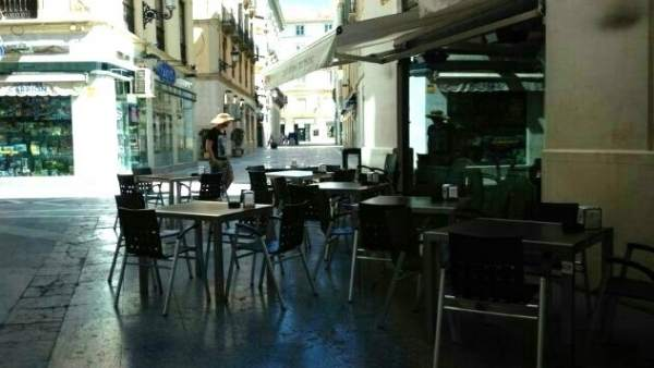 Terraza bares centro histórico Málaga