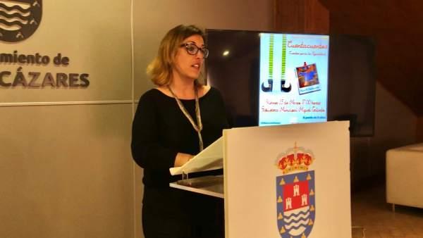 La concejal de Política Social, Isabel Sarmiento