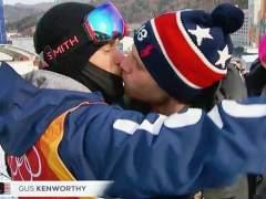 El beso gay que triunfa en los Juegos Olímpicos de PyeongChang