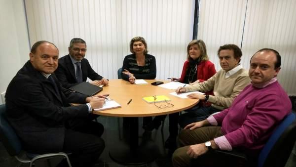 Reunión entre Endesa y Ayuntamiento de Almería