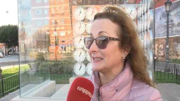 La presidenta de la AV3J, Rosa Garrote