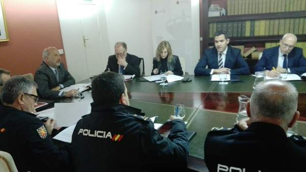 Reunión de coordinación presidida por el subdelegado del Gobierno en Sevilla