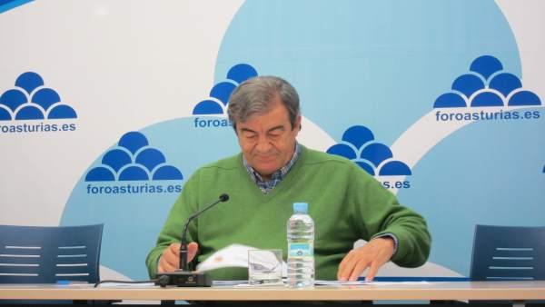 El secretario general de Foro Asturias, Francisco Álvarez-Cascos