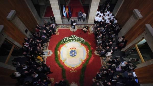 Acto en homenaje a las víctimas del Holocausto en el Parlamento