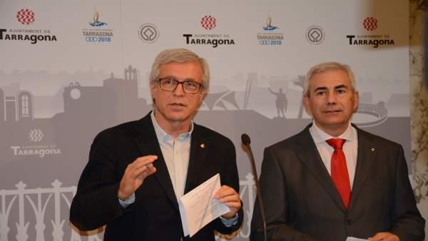 Josep Fèlix Ballesteros y Josep M. Barberà