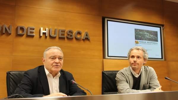 Miguel Gracia y Sixto Martín han presentado este estudio en la DPH