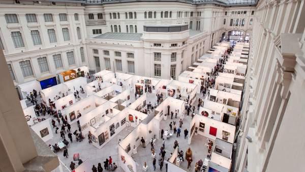 La feria Art Madrid se celebra en el Palacio de Cristal del 21 al 25 de febrero