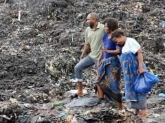 Al menos 17 muertos en Mozambique, sepultados por un alud de basura