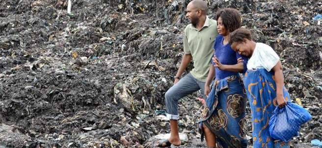 Alud de basura en Mozambique