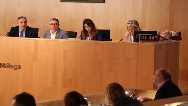 Pleno de la diputación de málaga noviembre de 2017