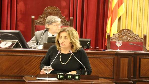 La consellera de Cultura, Participación y Deportes, Fanny Tur